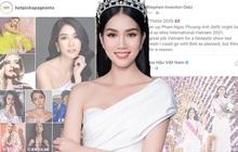 HOT: Á hậu 1 Phương Anh vừa đăng quang đã dẫn đầu BXH của fan sắc đẹp quốc tế, Giám đốc truyền thông Miss International khen tới tấp!