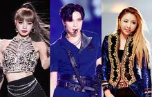 """Hội em út kiêm main dancer của Kpop: BLACKPINK và 2NE1 trùng hợp bất ngờ, 1 nam idol là """"cỗ máy nhảy"""" huyền thoại từ lúc 15 tuổi"""