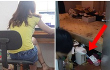 Gián chạy khắp nhà, 2 cô gái trẻ đi kiểm tra và choáng váng với cảnh tượng bên trong phòng của cô bạn sống cùng