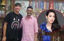 """Bố Doãn Hải My khoe ảnh với Văn Hậu, """"hàng xóm"""" Facebook tấm tắc: """"Cậu này mà làm con rể thì nhất"""""""