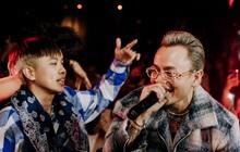 """R.Tee """"trói"""" thầy Binz khi trình diễn Bigcityboi trên sân khấu, nguyên team SpaceSpeakers """"quẩy"""" hết mình trong show từ thiện tại TP.HCM"""