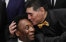 """Các siêu sao thế giới tiếc thương huyền thoại Maradona: Vua bóng đá Pele hẹn chơi bóng cùng """"Cậu bé vàng"""" trên thiên đàng"""