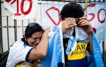 Đất nước Argentina chìm trong biển nước mắt tiếc thương Maradona