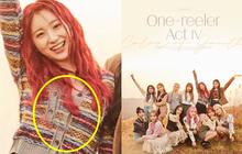 Ảnh teaser của IZ*ONE mắc lỗi photoshop cẩu thả, nhóm sắp tan rã nên bị bỏ bê giống Wanna One ngày nào?