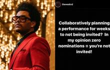 The Weeknd bất mãn không tham dự Grammy, BTC lên tiếng về lý do không nhận đề cử liên quan đến màn trình diễn Super Bowl?