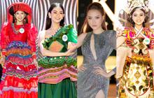 Bán kết Hoa khôi Du lịch Việt Nam 2020: Khánh Ngân đầy gợi cảm, Top 30 trình diễn ấn tượng trang phục dân tộc lạ mắt