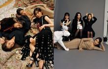"""Red Velvet gây tranh cãi với ảnh tạp chí mới: Em út là trùm cuối với vòng 1 bốc lửa, Irene từ nữ thần hoá """"trà xanh"""" trong mắt Knet"""