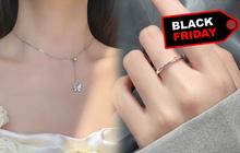 """Trang sức bạc mở """"tiệc sale"""" Black Friday: Giảm """"ngập lối"""" tới 70%, giá chỉ từ 29k"""