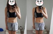 Quá đắng cay khi nhân viên shop phải đưa size quần nam mới mặc vừa, cô gái Hàn giảm thành công 32kg khiến ai nấy đều bất ngờ