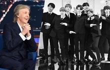 """Netizen """"nổi da gà"""" khi Paul McCartney khen ngợi và thú nhận thích xem BTS: Khi huyền thoại nhắc đến huyền thoại!"""