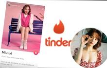 """Miu Lê cũng chơi Tinder, nhưng """"tìm bạn"""" là phụ, ca hát và ăn uống mới là điều quan trọng"""