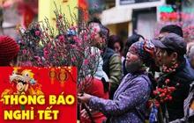Thủ tướng chốt lịch nghỉ Tết Nguyên đán Tân Sửu 7 ngày và nghỉ lễ Quốc khánh 4 ngày liên tiếp