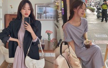 4 kiểu váy oversized mặc siêu xinh, giấu dáng cực khéo nên đang được hội gái Hàn chăm chỉ lăng xê