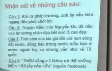 """Đề Văn yêu cầu dịch teencode, tưởng không khó mà lại khiến học trò """"xanh mặt"""""""