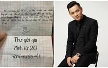 Độ Mixi tiết lộ bức thư bỏ nhà đi từ 20 năm trước, lý do ai cũng bật cười