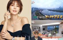 """""""Mẹ Kim Tan"""" Kim Sung Ryung khoe căn hộ cao cấp ở với chồng đại gia: View sông Hàn, bàn ăn khổng lồ khiến khách mời """"rớt hàm"""""""