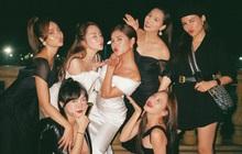 MC Thu Hoài tung trọn bộ ảnh trong tiệc mời cưới: Cô dâu đầy gợi cảm, ai dè Lã Thanh Huyền - Quỳnh Nga nóng bỏng chiếm spotlight