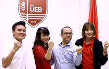 Quang Hải và Quách Thị Lan trở thành sinh viên trường đại học kinh tế hàng đầu Việt Nam