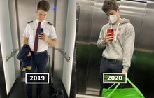 """Dân mạng phát sốt vì anh phi công đẹp trai phải chuyển qua làm shipper: Vậy mới thấy 2020 là một năm """"toang"""" như thế nào"""