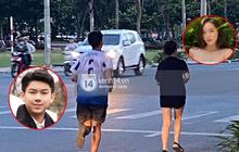 Xôn xao hình ảnh con trai út tỷ phú Johnathan Hạnh Nguyễn cùng bạn gái chạy bộ cuối tuần