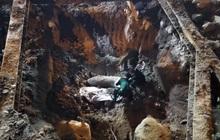 Hà Nội: Thi công móng phát hiện quả bom chưa nổ, lực lượng chức năng phong toả khu phố