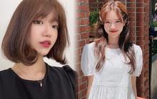"""Học gái Hàn nhuộm tóc màu caramel không cần tẩy để makeup đơn giản vẫn xinh, diện đồ là """"auto"""" trừ tuổi"""