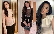 """Style của 3 nàng Á hậu sớm theo chồng về dinh ở tuổi đôi mươi: Toàn """"chơi"""" màu đen - trắng - be mà vẫn max lồng lộn mới hay!"""