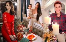Dàn sao Vbiz rộn ràng đón lễ Tạ ơn - Giáng sinh, choáng nhất Ngọc Trinh, Phạm Hương và Lã Thanh Huyền trang hoàng nhà lồng lộn