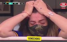 Tiếng khóc xé lòng của con gái Maradona khi được cầu thủ đội bóng cũ của bố đến vỗ tay động viên