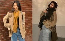 Sao Hàn đã rục rịch diện toàn khăn len đẹp ngất, các nàng còn không mau vào tham khảo cách phối đi nào