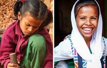 Chùm ảnh trẻ em nghèo trước và sau khi được giúp đỡ để có cơ hội đến trường đi học như bạn bè đồng trang lứa gây xúc động mạnh