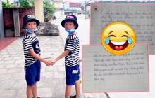 Cậu bé xin được chữ ký của cầu thủ U22 Việt Nam, sợ mẹ giặt áo bay mất chữ nên viết bức tâm thư mùi mẫn, cả nhà đọc xong cười xỉu