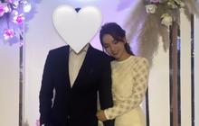 Em dâu hụt Phan Thành sánh vai cùng bạn trai hơn 11 tuổi đi ăn cưới Á hậu Tường San