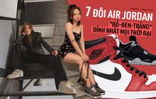 """Trang web mua/bán sneakers hàng đầu thế giới GOAT vừa công bố top 7 đôi Air Jordan """"Đỏ-Đen-Trắng"""" đỉnh cao nhất mọi thời đại"""