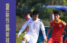 """""""U22 Việt Nam thu nhỏ"""" của Hà Nội FC nguy cơ bị loại sớm ở Giải U21 quốc gia 2020"""