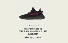 """Huyền thoại adidas YEEZY BOOST 350 V2 """"Black/Red"""" sẽ chính thức có mặt tại Việt Nam"""