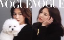 """Ảnh tạp chí khác lạ của Song Hye Kyo: Mờ nhòe out nét khó hiểu, nhưng nhan sắc đẹp miễn chê đã """"cân"""" lại ngoạn mục"""