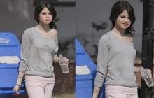 Bức ảnh huyền thoại của Selena Gomez: Đi chân đất, mặc áo ngủ lệch vai, đi đổ rác thôi vẫn xinh ngút ngàn
