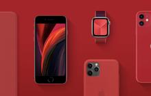 Apple nhuộm đỏ trang chủ, tuyên bố toàn bộ doanh thu từ dòng sản phẩm Product (RED) sẽ được làm từ thiện