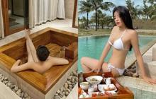 """Kỳ Duyên tung ảnh chụp góc """"hiểm hóc"""" gây lú cực mạnh, netizen phát hoảng vì tưởng nàng Hậu nude 100%"""