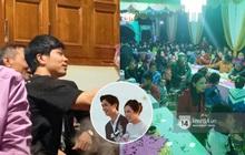 Tiệc đãi khách trước đám cưới Công Phượng ở Nghệ An: Chú rể rạng rỡ liên hoan cùng gia đình, khách nô nức nghe nhạc rộn ràng