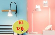 """Sắm đèn kẹp bàn tiện dụng để có góc phòng ngăn nắp """"xịn sò"""" thích mê"""