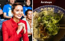 Bữa ăn lúc 0h của H'Hen Niê sau 1 ngày làm việc cật lực: Toàn rau sống với đậu phụ vẫn đủ khiến dân tình thèm thuồng