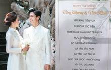 Cận cảnh menu đám cưới ở quê nhà Công Phượng: Tận 11 món nhưng chẳng thấy đặc sản xứ Nghệ nào