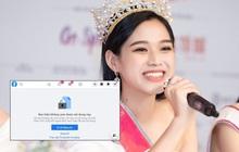 """Nghi vấn: Facebook Hoa hậu Đỗ Thị Hà bị """"bay màu"""" sau lùm xùm không theo dõi Jisoo (BLACKPINK)"""
