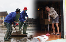 Chùm ảnh: Người dân Hội An vật vã dọn bùn non sau trận lụt thứ 8 trong năm