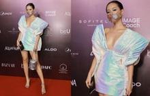 """Đi fashion show mùa dịch phải """"chất đét"""" như Khánh Linh: Ai bảo đeo khẩu trang là không thể mặc đẹp?"""
