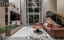 Đầu tư 5 tỷ, cặp vợ chồng biến nhà thô thành penthouse sang xịn mịn với style tối giản cực mê