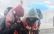 """Không khí lạnh tăng cường """"cực mạnh"""" gây rét đậm rét hại toàn miền Bắc, Sa Pa xuống 5 độ C có thể xuất hiện băng tuyết"""