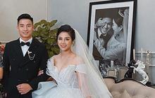 Lộ ảnh cưới của Tiến Dũng và Khánh Linh: Chú rể lịch lãm, cô dâu diện váy cưới khoe vòng 1 táo bạo